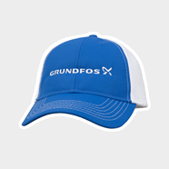 Picture of Blue/White Dri Fit Hat