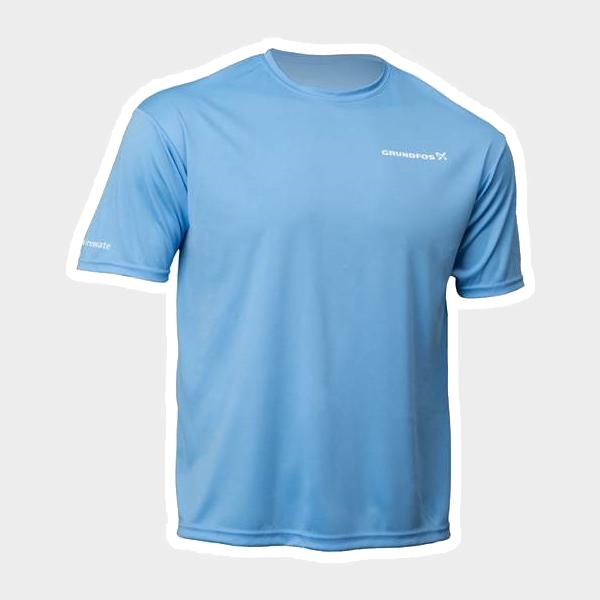 336e17c09ac Grundfos Web Store. Columbia Blue Dri Fit T-shirts