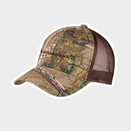 Picture of Mossy Oak Camo Structured Mesh Back Cap