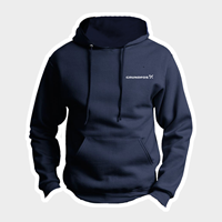 Picture of Jerzees Navy Hooded Sweatshirts