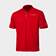 Picture of Red Men's Nike Golf Shirt
