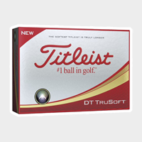 Picture of Sleeve Of Titleist DT TruSoft Golf Balls