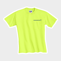 Picture of Safety Green Dri Power Pocket T-Shirts