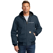 Picture of Carhartt Quilted-Flannel -Lined Duck Active Jacket