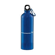Picture of Blue aluminum bottle